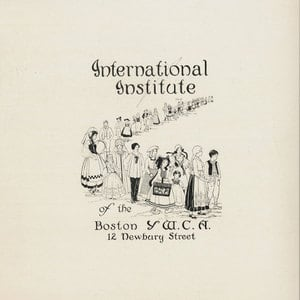 First graphic representation of the IINE-Boston site while still a part of the YWCA. (1930s)