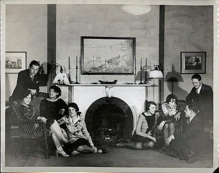 Image of International Institute of New England Party in 1929