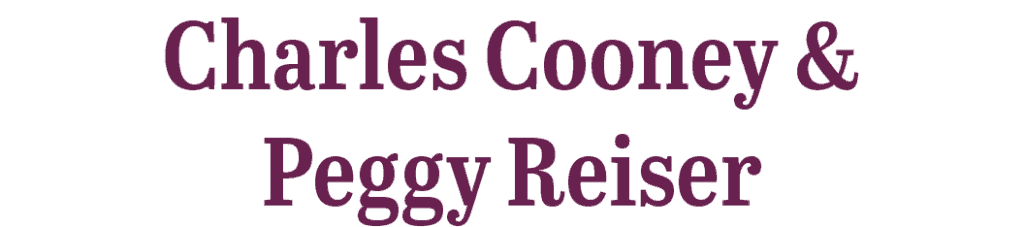 Charles Cooney and Peggy Reiser